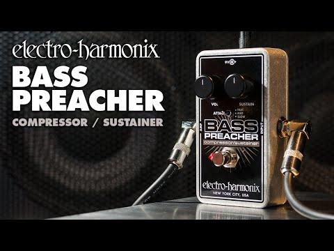 electro harmonix bass preacher compressor youtube. Black Bedroom Furniture Sets. Home Design Ideas