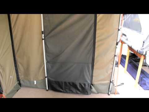 A Quick Look At The Oztent RV 5 Deluxe Peaked Side Panels