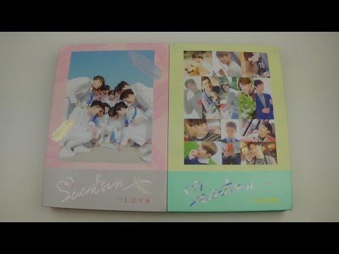 Unboxing Seventeen 세븐틴 First Studio Album Love & Letter (Both Versions)