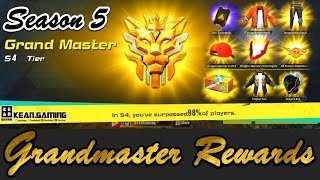 SEASON 5 GRANDMASTER REWARDS - Rules Of Survival Fast Edits EP.22