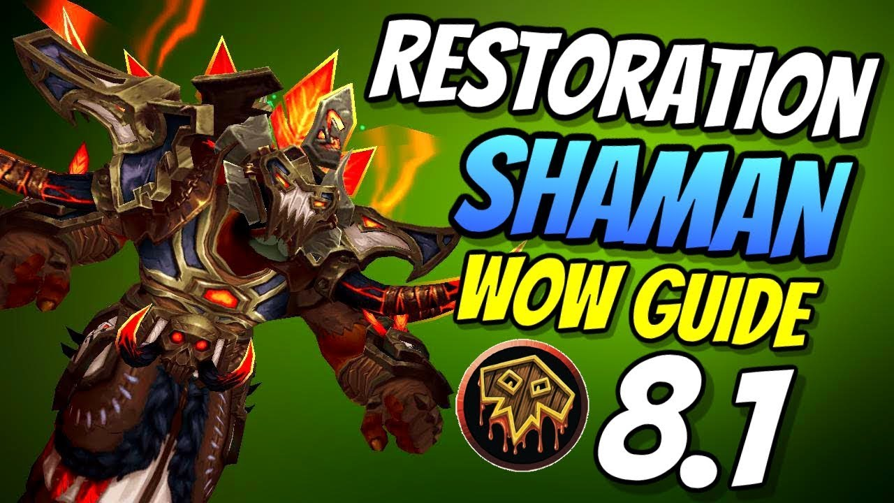 resto shaman pve guide