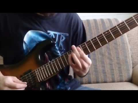 Dethklok - Awaken ( Guitar Cover ) with all solos