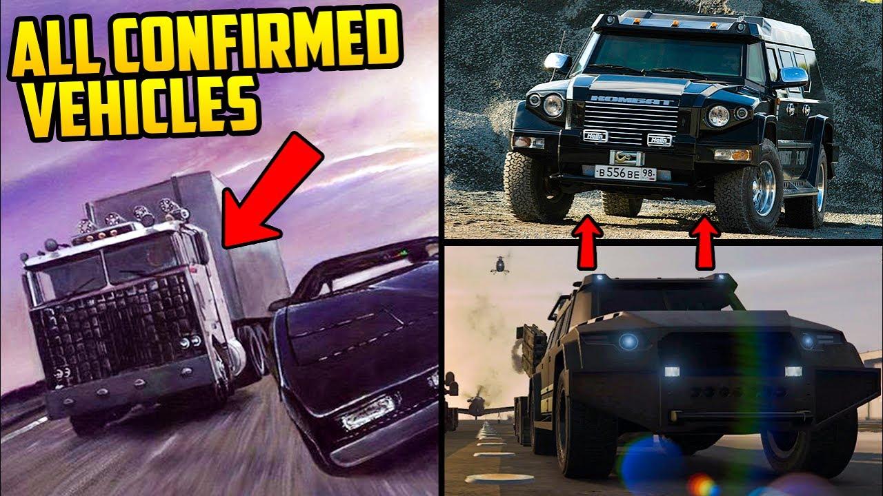 ALL CONFIRMED GTA ONLINE: GUNRUNNING DLC VEHICLES & WHAT