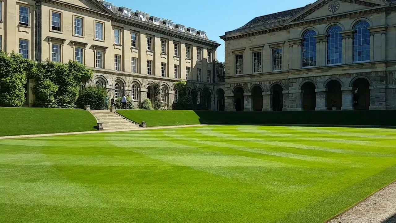 Worcester College Oxford - YouTube