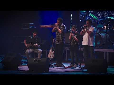 Marcio Maresia E Alunos De Gaita Na 13ª Audição FLM Rock School 2018
