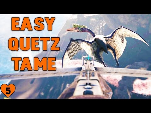 EASY QUETZAL TAME | Ark Survival Evolved | Season 5, Episode 5