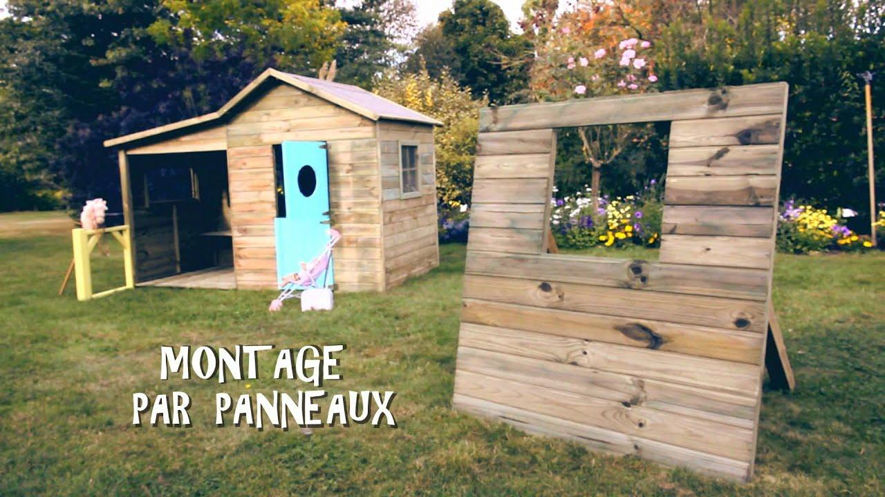 Maisonnette youtube - Maisonette en bois ...