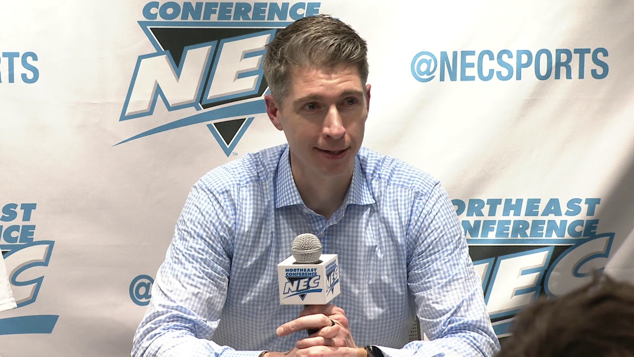 Men's Basketball vs. Saint Francis   NEC Championship   RMU Press Conference