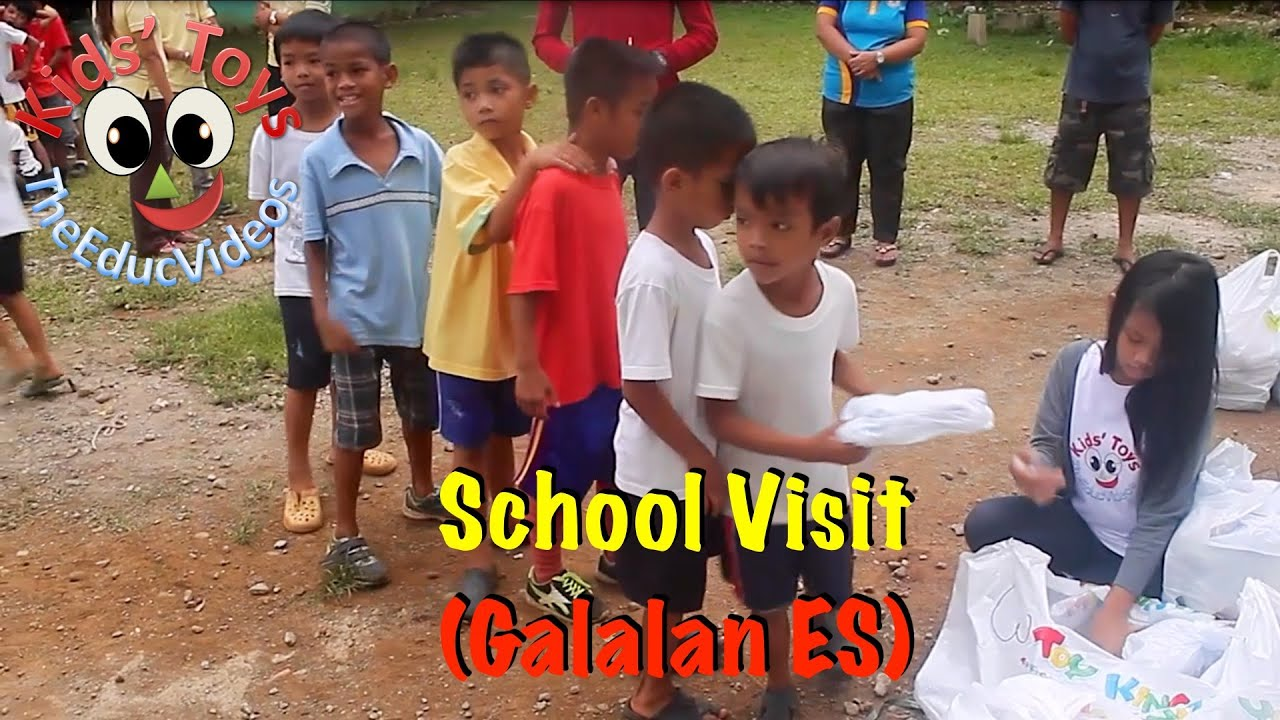 Kids' Toys Surprise Visit in Galalan Elementary School
