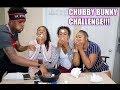 CHUBBY BUNNY CHALLEGNGE FT TAYLOR GIRLZ!!!