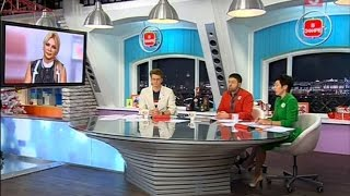 """Ая (Город 312) в программе """"Утро на 5"""""""