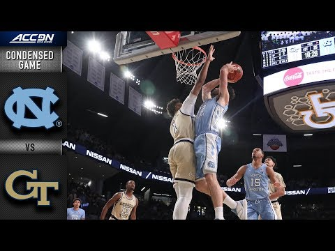 North Carolina vs. Georgia Tech Condensed Game | ACC Basketball 2018-19