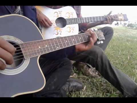 parelima lukai rakhana acoustic guitar lesson - YouTube
