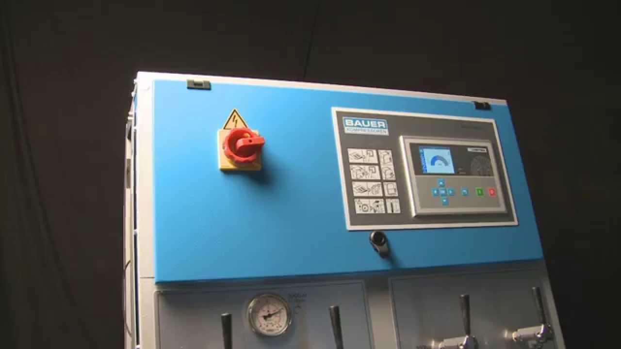 B-CONTROL MICRO Compressor Control and external B-CONTROL Display from  BAUER KOMPRESSOREN