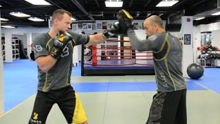 BOXING COMBINATIONS. COMBO BUILDER SERIES. CHANGING LEVELS