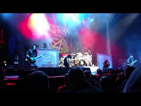 Anthrax live @ Jacobs pavilion Cleveland Ohio 9/9/16