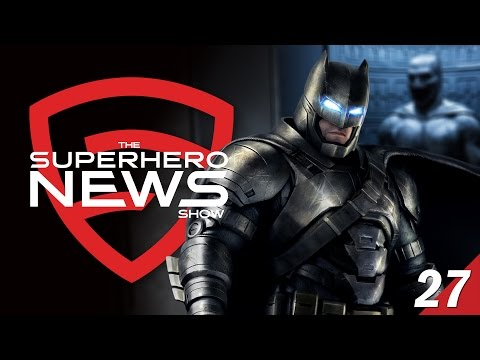 Superhero News #27: More Batman in the DC Extended Universe!