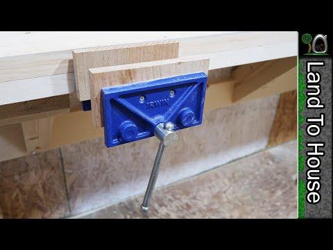 Workbench Wood Vise - Build a Workshop #55