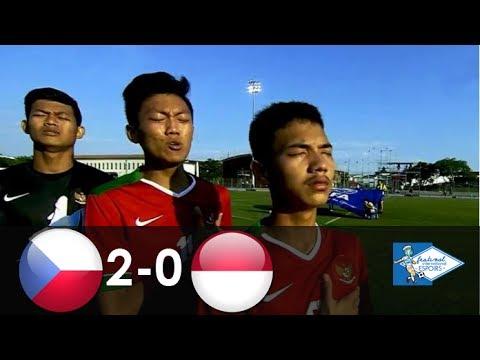 Rep. Ceko U19 vs Indonesia U19 2-0 | Highlights | Toulon Tournament | 3/6/2017