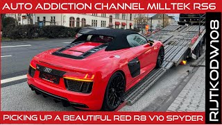 Dynamitrode R8 V10 Spyder | Youtube Auto Addiction channel Milltek RS6 | Teveel gevraagd Aeropack