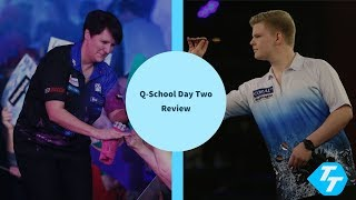 Ashton on the EDGE of HISTORY | Teenager takes tour card | PDC Q-School 2020 day two review