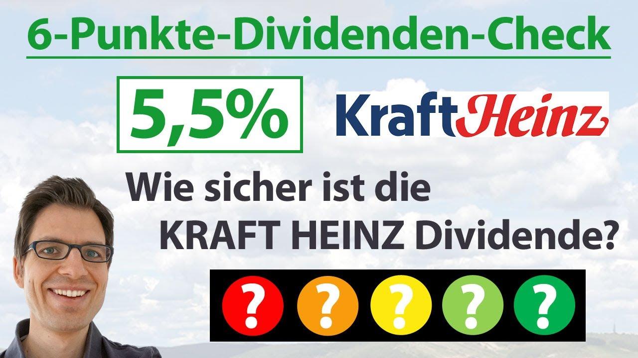 Kraft Heinz Dividende