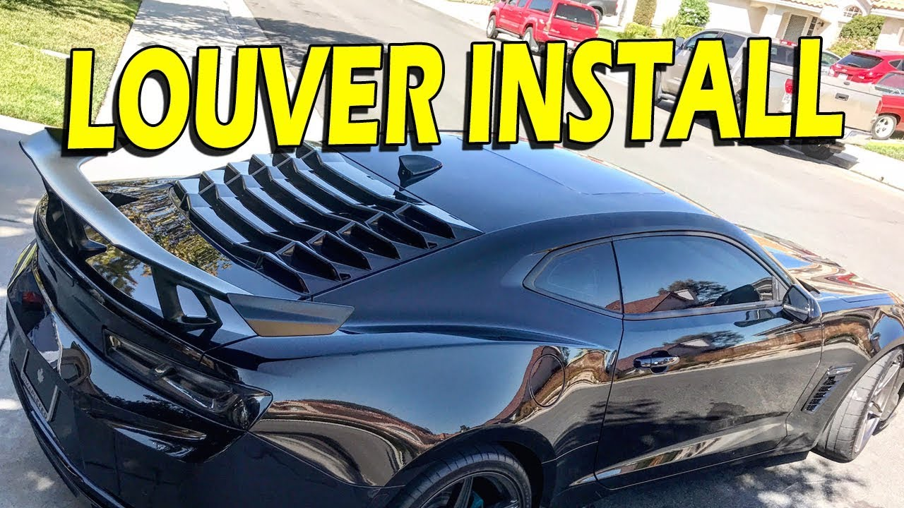 How To Louvers Install Guide Ikon Motorsports Youtube