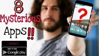 Top 8 Mysterious Apps Not Available on Google Playstore!! You must Try !!