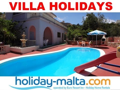 Villas in Malta, 4 bedrooms to rent for holidays (Rental 504 )