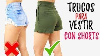 Trucos Para Vestir Con Shorts Lucir Mejor Sin Verte Vulgar 🦄 Bessy Dressy