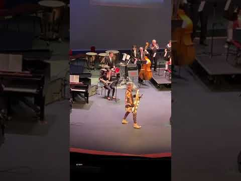 Sitka High School - Moanin (Featuring Leo Pellegrino and Dale Curtis) -Sitka Jazz Festival 2019