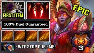 THIS IS HOW 9K PRO LEGION OFFLANE with First Item Blade Mail EZ Win Every Duel & Deleted ALL DotA 2