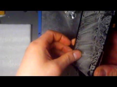ZTE blade HN  - Замена сенсора - Как отделить сенсор от экрана.