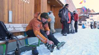 Ski Pants - Ski Boots - How to put them on