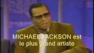 Louis Farrakhan talks about MICHAEL JACKSON humiliation