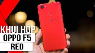 FPT Shop - Khui hộp OPPO F5 Đỏ RAM 6G: Màu xinh lung linh chào mùa giáng sinh