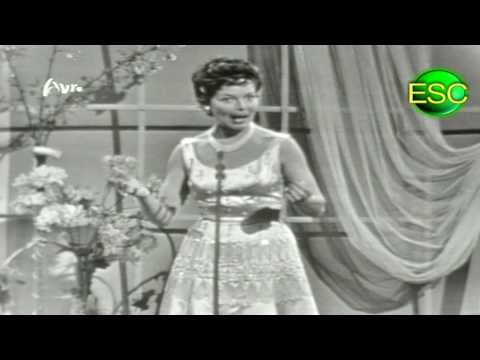 ESC 1958 10 - Switzerland - Lys Assia - Giorgio