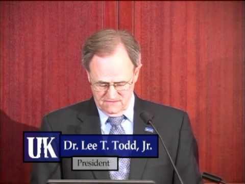 University of Kentucky State of the University Address