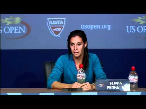 2011 US Open Press Conferences: Flavia Pennetta (Third Round)