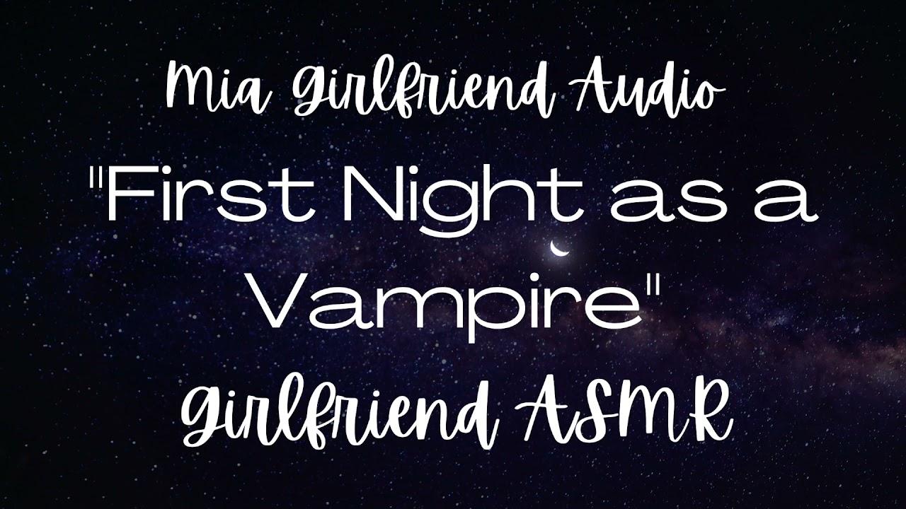 I'm a Vampire - Girlfriend ASMR Audio [F4M][New Vampire][Jealous][Panicking][Possessive][Giggly]