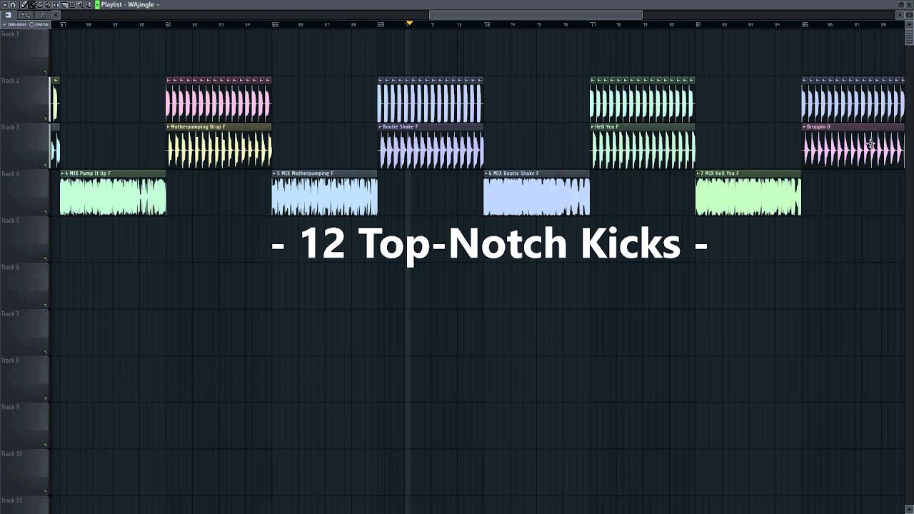 The Best FREE Melbourne Bounce Kicks & Bass Loops / Samples FL Studio  Preview