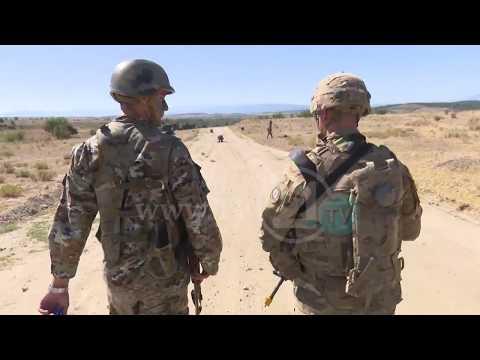 """Еден ден со војниците на Kриволак–Американската војска по """"Dragoon guardian"""" си замина од Mакедонија"""