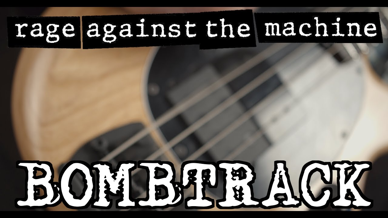 [BASS COVER] Rage Against the Machine - Bombtrack