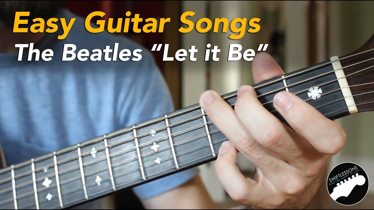 Easy Guitar Chords Modern Songs