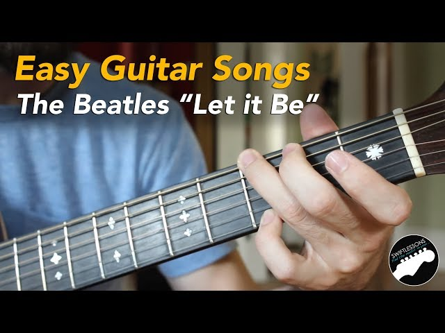 Easy Beginner Guitar Songs  - The Beatles