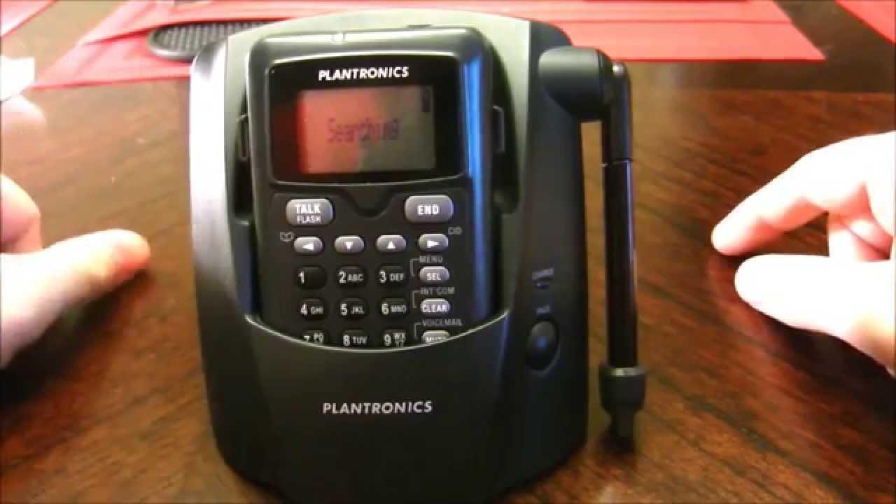 2ae5299259b Plantronics Cordless Headset Phone - CT14 - YouTube