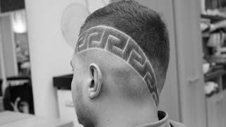 мужская стрижка от HOOLiGANZ(мужская стрижка c дизайном в исполнении Антона Шмелева cпециально для HOOLiGANZ barbering school. music: Mikey Jay - Ceis la vee (feat...., 2015-03-05T20:10:07.000Z)