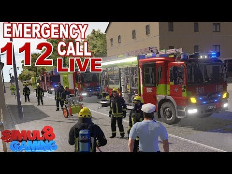archive: Emergency Call 112 LIVE : Firefighting Simulation - Notruf 112 Simul8