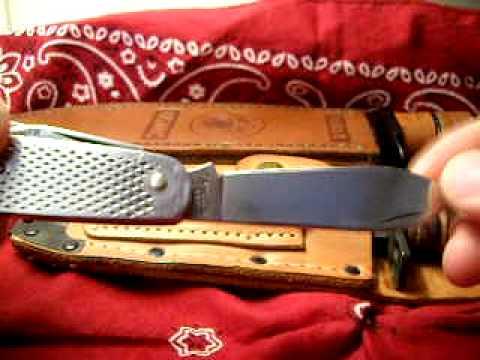 U S Military Issue Pocket Knives Youtube