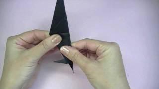 おりがみ からす Origami Crow